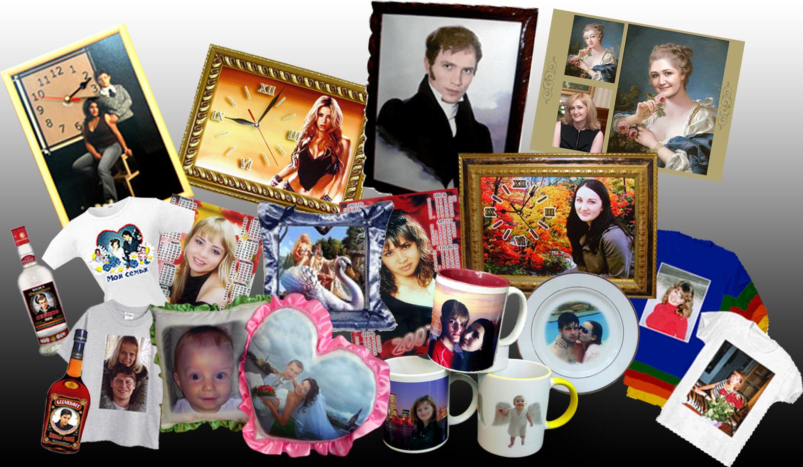 Подарки с фотографиями на заказ 722